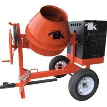9 cu. ft. Concrete Mixer w/1.5 HP, 115/230V, 1 PH, Baldor (EL11319M)