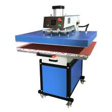"""32"""" x 40"""" Wide Flatbed Pneumatic Heat Press Machine Pull-out Style"""