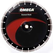 Omega Asphalt Saw Blade 10mm Segments