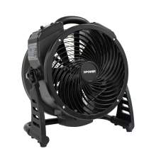 XPOWER M-25 Brushless DC Motor Axial Air Mover Fan w/ Ozone Generator