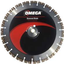 Omega Masonry Saw Blade 12mm Tall Segments (Premium Plus)