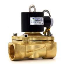 "P1 1"" NPT(F) Brass Electric Solenoid Valve SF2W350-N25-24VDC"