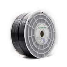 "1/4""OD x 656 feet Polyurethane Tubing Black P5"