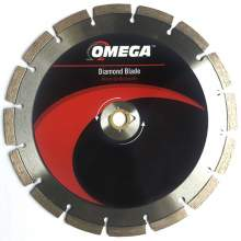"Omega 4"" General Purpose Saw Blade 10mm Tall Segments"