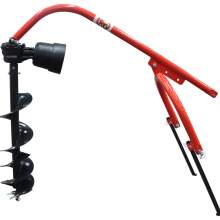 """Standard Auger 6"""" Post Hole Digger with 3-Point Connection to Tractor"""