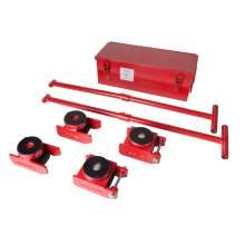 Machinery Skate Kit  8800 Lbs 4 rollers 2 handles 1 case