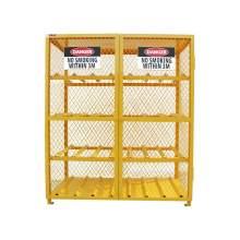 Cylinder Storage Cabinet  Horizontal 16 Cylinder Capacity Assembled