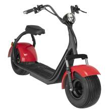 2000W  Electric Fat Tire Scooter With Best Charger 60V 20Ah Red
