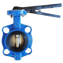 """2-1/2"""" Wafer Butterfly Valve Resilient Seated Cast Iron 232PSI"""