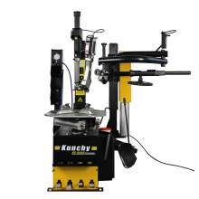 Tilt Back Tire Changer Machine with Right-Tower Single Assist  24 Inch