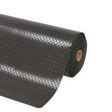 Garage Floor Mat - Diamond - 4 ft. x 20 ft. Black
