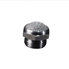 Sintered Stainless Steel Exhaust Muffler with Impact Resistance