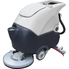 """20"""" 13 Gal Single Brush Floor Scrubber With 60L Recovery Tank 2*12V 100AH"""
