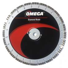 "Omega 16"" General Purpose Saw Blade 12mm Tall Segments (Premium Grade)"