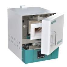 2L 1200℃ 1500W Ceramic Fiber Muffle Furnace