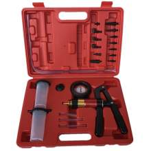 Auto Hnad Held Vacuum Pump Pressure Tester Kit  with Adapters