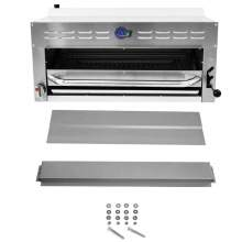 Commercial Natural Gas Salamander Broiler with Range&Wall Mounting Kit
