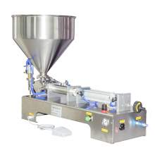 1-10 OZ Paste/Liquid Filling Machine Semi-Auto One-Head Filler