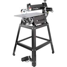 """General International 16"""" Excalibur Scroll Saw with Stand and Foot Switch"""