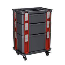 Stackable Tool Box System Interlocking Container P1