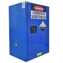 "Corrosive Cabinet 12 Gallon 35"" x 23"" x 18""  Self-Closing Door"