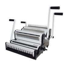 2 IN 1 Comb / Wire 3 :1 And 2 :1 Double Loop Wire Binding Machine