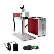 Raycus 30W Fiber Laser Marking Machine Laser Engraver FDA Certified