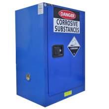 "Corrosive Safety Cabinet 12 Gallon 35"" x 23"" x 18""  Manual Door"