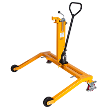 Hydraulic Drum Lifting Truck with Adjustable Straddle Leg 550 Lbs