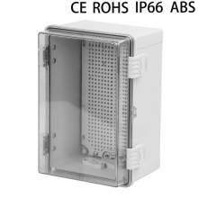 12 x 12 x 6.7In IP66 waterproof ABS Plastic Enclosure With Clear cover