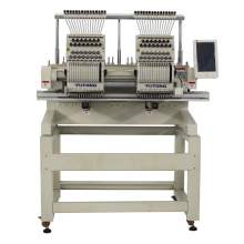 Double Head 15 Needles Embroidery Machine With Pattern-Design System