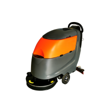 20'' 16 Gal Auto Floor Scrubber Traction Motor 100AH Battery