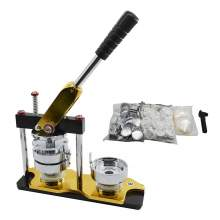 2.28'' Rotating Badge Button Maker Machine With 100 Circle Buttons