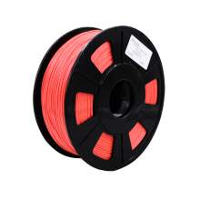 3D Printer Red Silk PLA Filament Dimensional Accuracy +/- 0.02mm 1kg