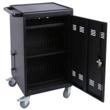 30-Bay Device Tablet Charging Cart for Tablets / Notebooks