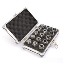 ER25-15PCS(2mm-16mm) Precision Spring Collet  Aluminum alloy box