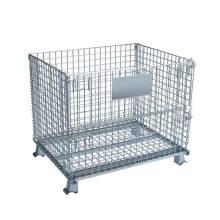 "Folding Wire Container 40""L x 32""W x 34""H 2800 Lb"