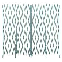 Double Steel Folding Gate Openning 14-16 Ft  In Use Ht 6 Ft