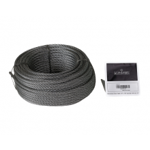 "Galvanized Cable 1/4"" x 100' Capacity 1220 Lbs 7x7"