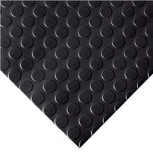 Garage Floor Mat - Coin - 4 ft. x 30 ft. Black