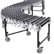 "Skate Wheel Conveyor 24"" Width x 6 to 24 Ft Bed Length"