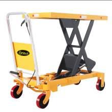 "Manual Single Scissor Lift Table 1760 lbs 39.4"" Lifting Height"