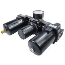 Port 1/2'' NPT Big Flowrate Air Filter Regulator Lubricator