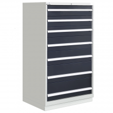 "Modular Drawer Cabinet 7 Drawers 40-1/4""W × 22-1/2""D × 60""H"
