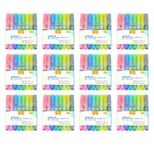 8 Colors Outline Marker Paint Markers Water Based Round Tip Set of 96