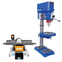 """Chamfering Machine Benchtop / 18"""" Industrial Variable Speed Drill Press Tap Machine (Combo)"""