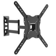 Full-Motion TV Wall Mount For 17-55 Inch LED With VESA 400x400mm 66lbs