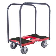 1800 lb SUPER-DUTY E-TRACK Panel Cart Dolly Red