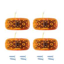Bullseye Trailer Side Marker Lights 16 Leds Amber