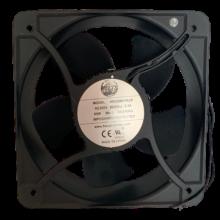 7.87'' Square Ac Axial Fan, 220vac, 60Hz, 0.3A , 530cfm, 1PH,1uF/500V